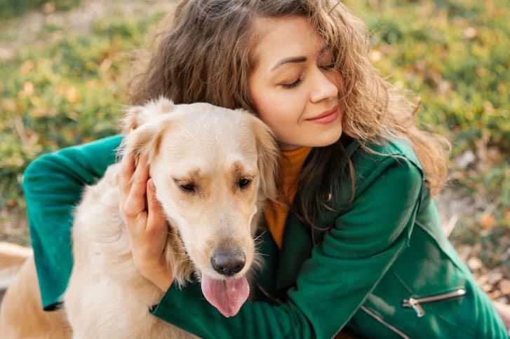 NaturVet Dog Owner and Dog